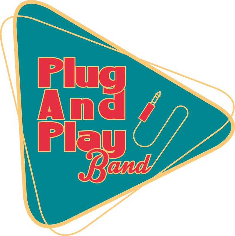 Logo der PlugAndPlay-Band - Live-Musik-Band für gehobene Events von Firmenfeier bis Hochzeit