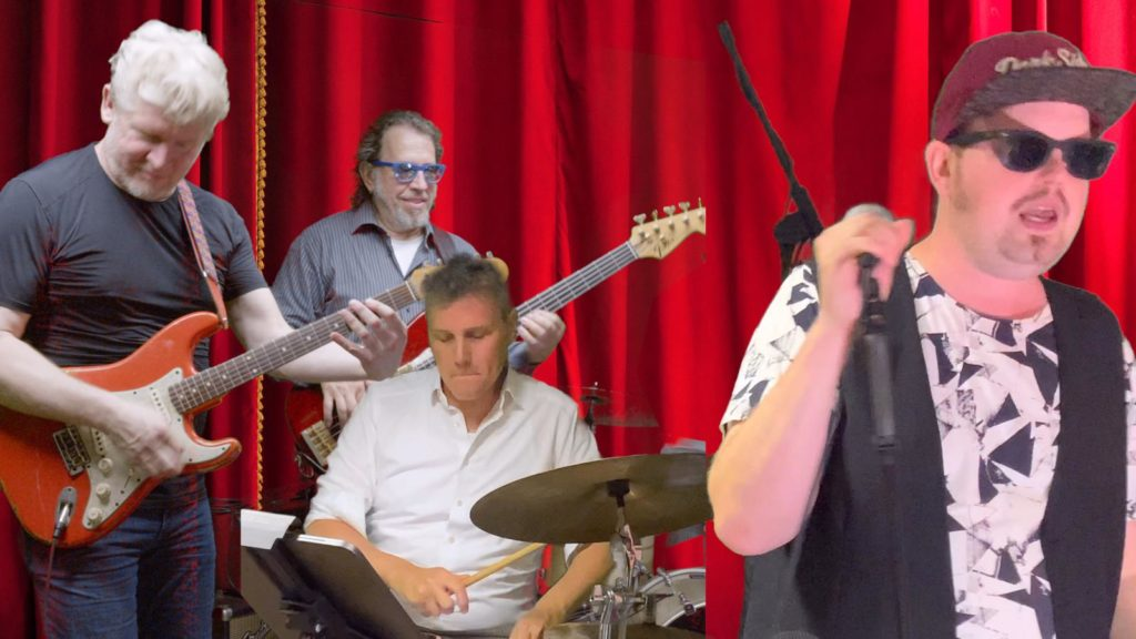 Die PlugAndPlay-Band in Quartettbesetzung.
