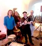 Die PlugAndPlay-Band bei einer Hochzeit in der Region Karlsruhe.