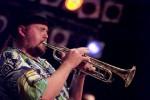 Sean Ian Guptill - Trompter/Sänger der PlugAndPlay-Band.