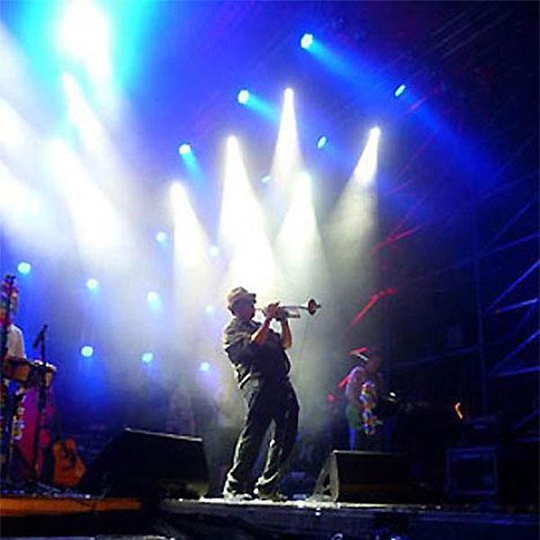Sean Guptill - Sänger und Trompeter der PlugAndPlay-Band